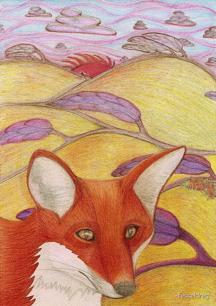 Foxy Fields by fesseldreg