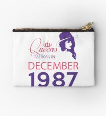 It's My Birthday 31. Made In December 1987. 1987 Gift Ideas. Studio Pouch