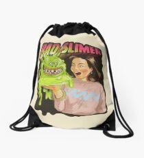 Bad slimer Drawstring Bag