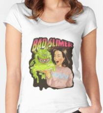 Bad slimer Women's Fitted Scoop T-Shirt