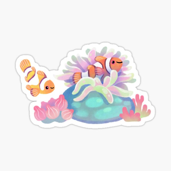 Anemone home Sticker