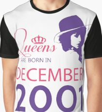 It's My Birthday 17. Made In December 2001. 2001 Gift Ideas. Graphic T-Shirt