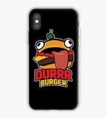 Durrr Burger iPhone Case