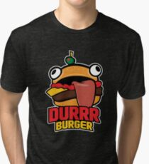 Durrr Burger Tri-blend T-Shirt