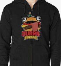Durrr Burger Zipped Hoodie