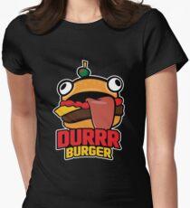 Durrr Burger Women's Fitted T-Shirt