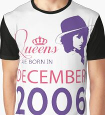 It's My Birthday 12. Made In December 2006. 2006 Gift Ideas. Graphic T-Shirt