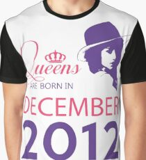 It's My Birthday 6. Made In December 2012. 2012 Gift Ideas. Graphic T-Shirt