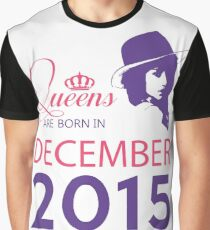 It's My Birthday 3. Made In December 2015. 2015 Gift Ideas. Graphic T-Shirt