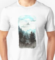 Surveying the slopes  Unisex T-Shirt