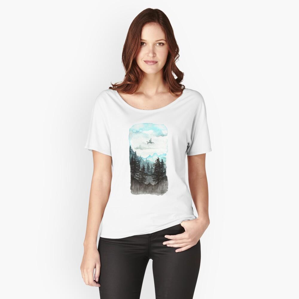 Vermessung der Pisten Loose Fit T-Shirt