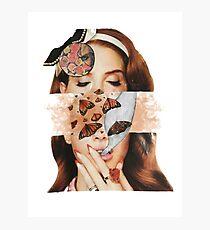 Lana collage Photographic Print