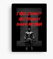 Creed 2 - Loyalty  Canvas Print