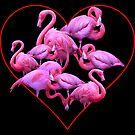 My Flamingo Heart by Tatyana Binovskaya