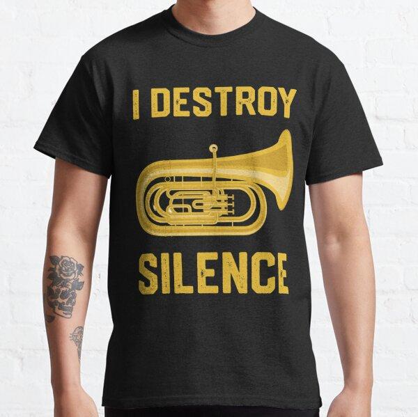 Funny Tuba Shirts - Tuba Player Marching Band Gift Classic T-Shirt