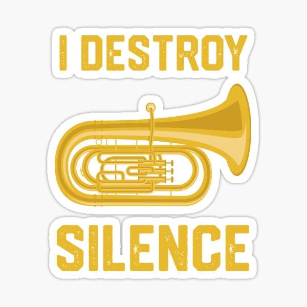 Funny Tuba Shirts - Tuba Player Marching Band Gift Sticker