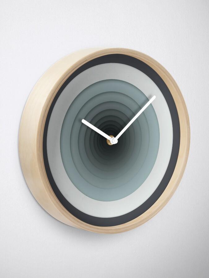Alternate view of Geometric Progression Clock