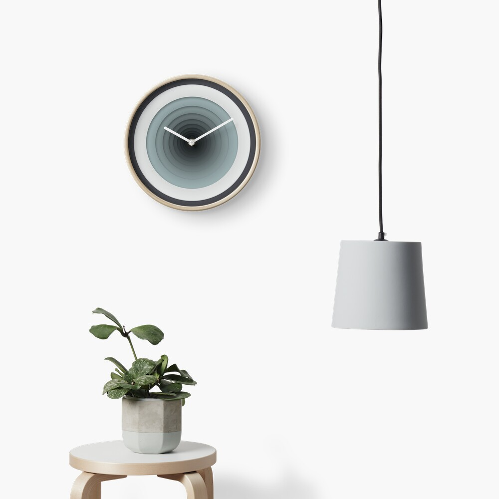 Geometric Progression Clock