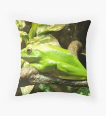 For Frogster Throw Pillow