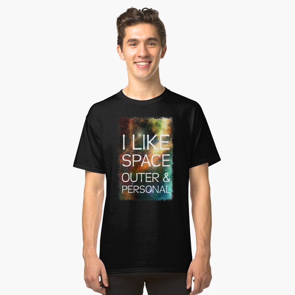 I LIKE SPACE Classic T-Shirt Front