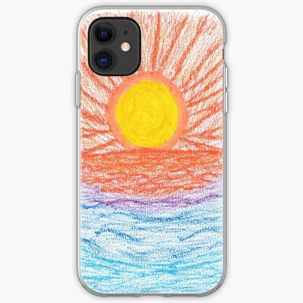 Merch #28 -- Sea Sunset iPhone Soft Case