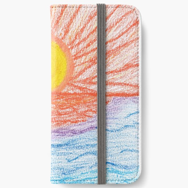Merch #28 -- Sea Sunset iPhone Wallet