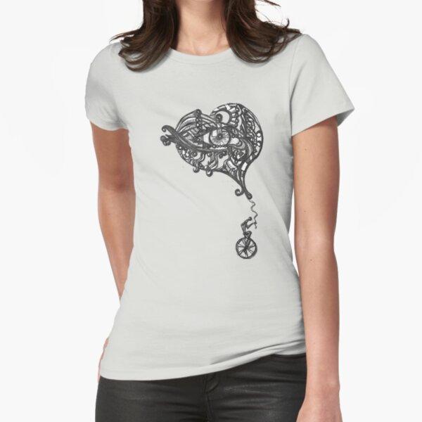 LittleTScribble#17 Fitted T-Shirt