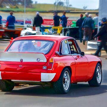 1968 MGC GT by StuartRow