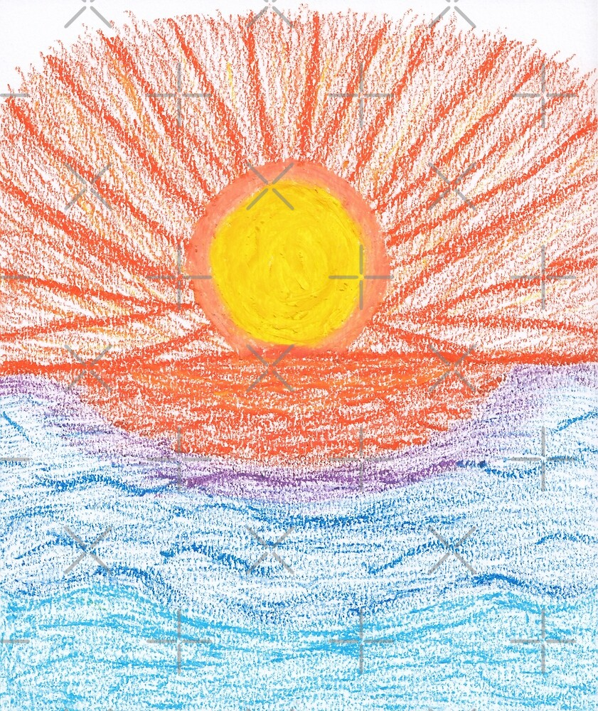 M.I. #28 |☼| Sea Sunset by Naean