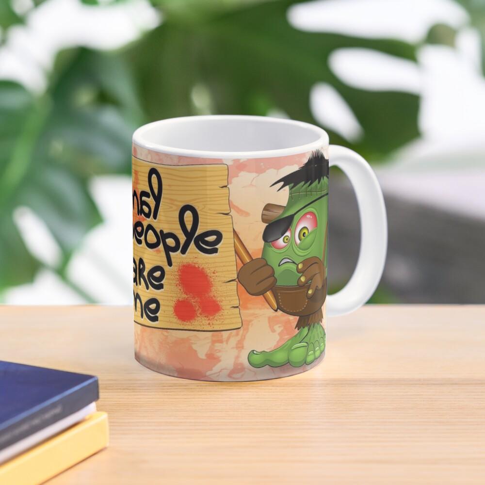 'Normal People Scare Me' Humorous Frankenstein Character   Mug