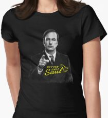 Better Call Saul B&W Women's Fitted T-Shirt