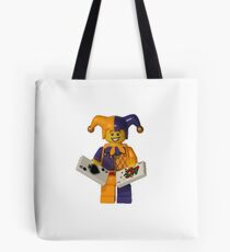 LEGO Jester with cards Tote Bag