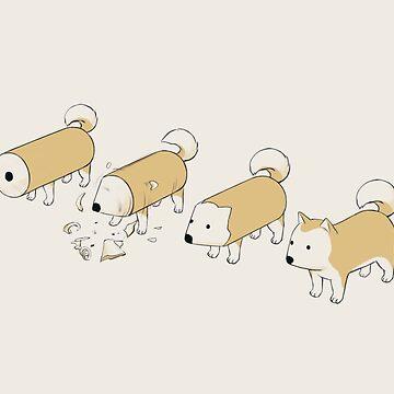 Pencil Dog by fallonharrod