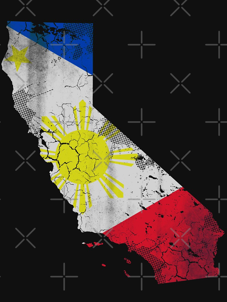 California Filipino Flag by frittata