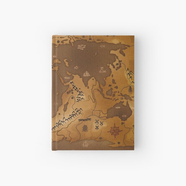 Planet Earth - Inversed (No Text) Hardcover Journal