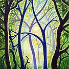 'THE TREES DANCE A BALLET IN HONOR OF THE SUN' by Jerry Kirk