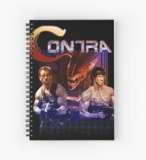 Contra Ripoff Spiral Notebook