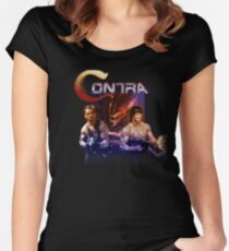 Contra Ripoff Women's Fitted Scoop T-Shirt