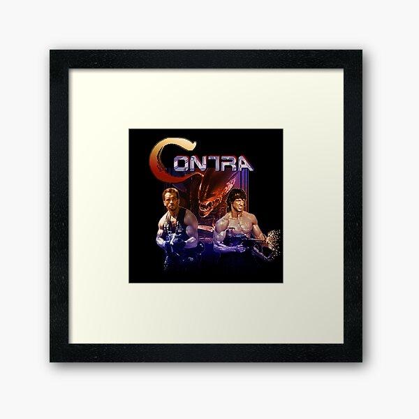 Contra Ripoff Framed Art Print