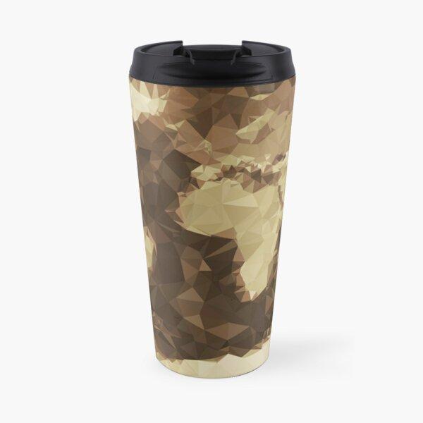 The World (Simplified) Travel Mug