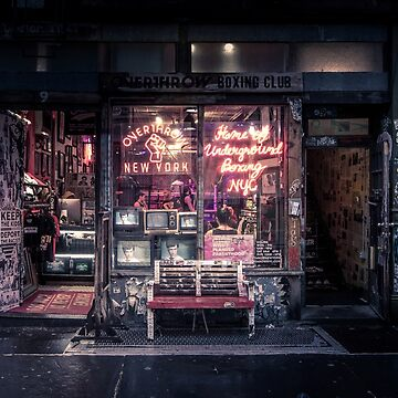 Underground Boxing Club NYC by Nicklas81