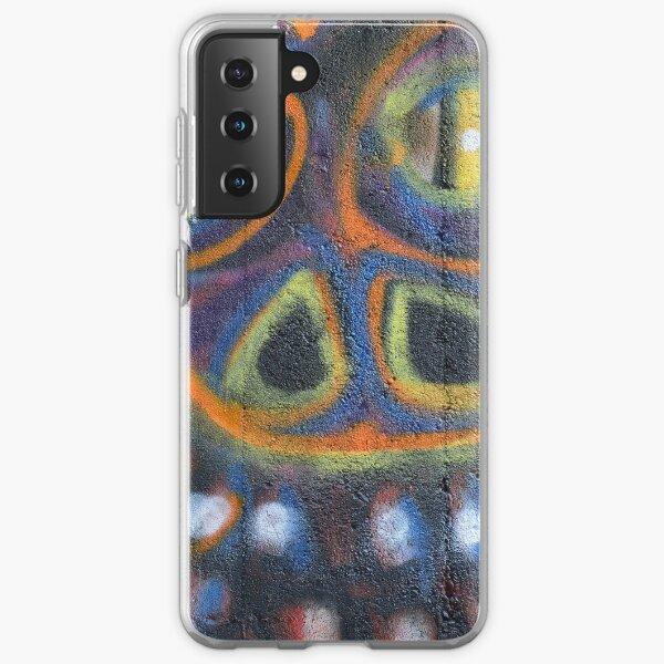 Graffiti Wall Art Photography - Smile Samsung Galaxy Soft Case
