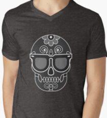 stylised skull Men's V-Neck T-Shirt
