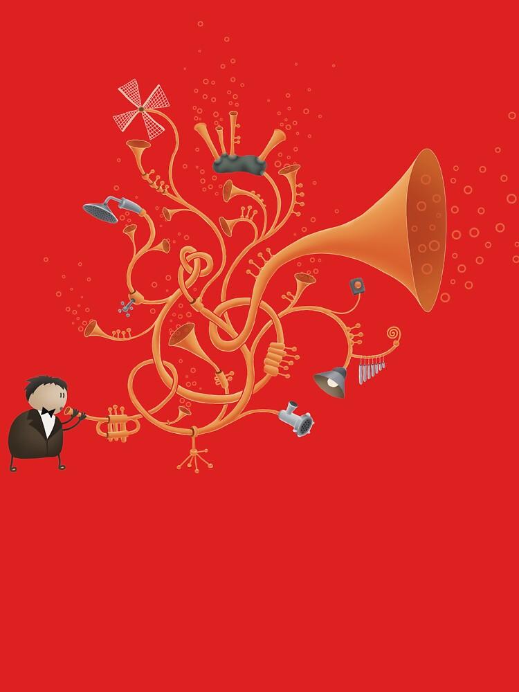 Trombombone by vladstudio