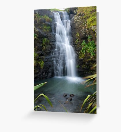 Unnamed waterfall Greeting Card
