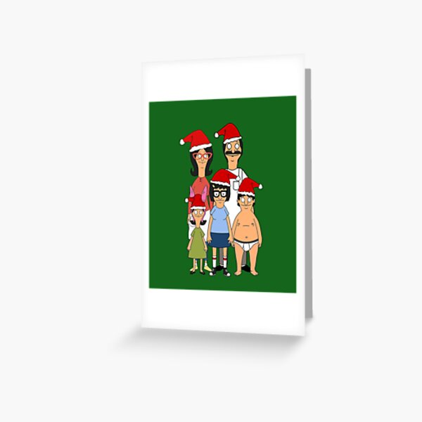 A Belcher Family Christmas Holiday Greeting Card