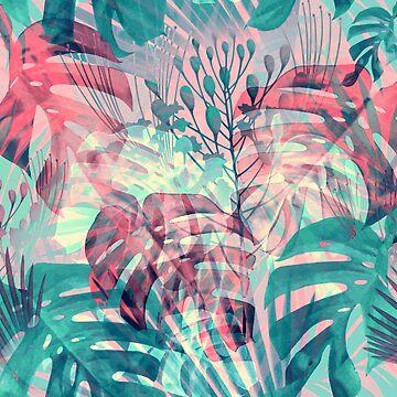 Monstera in Rain Forest by BessoChicca