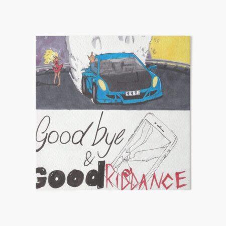 Juice Wrld - Goodbye & Good Riddance Art Board Print