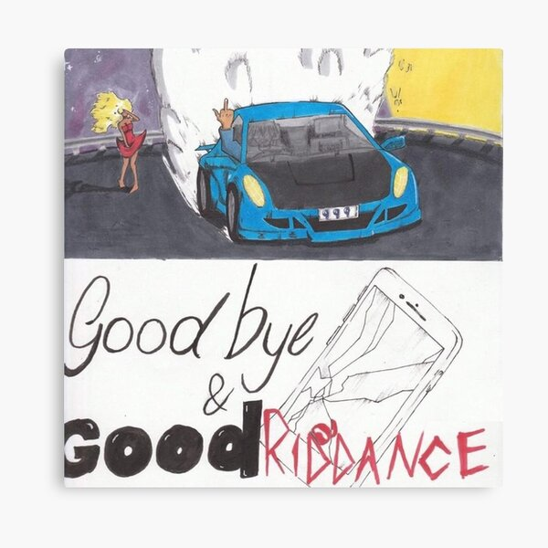 Juice Wrld - Goodbye & Good Riddance Canvas Print