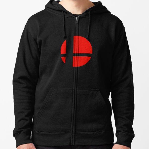 Smash Bros Logo Veste zippée à capuche